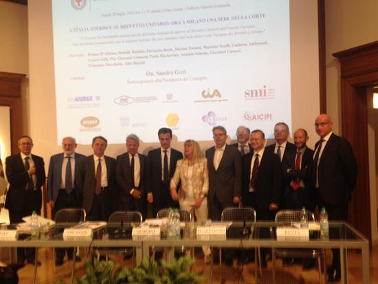 Milano tribunale unificato dei brevetti