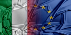 European Union and Italy. The concept of relationship between EU and Italy.