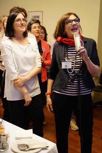 Un momento degli eventi italiani Women in in IP 2015