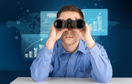 Binoculars, Searching, Looking.