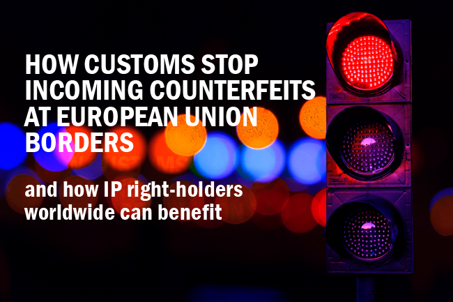 Customs stop counterfeits at EU borders