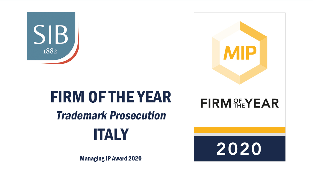 Italy trademark firm of year MIP