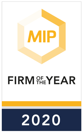 Managing IP Firm of the year award 2020