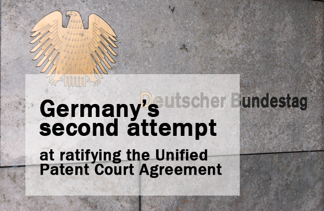 Germany ratification UPCA