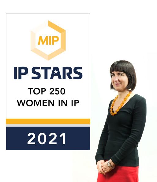 Italy IP Stars Top 250 Women in IP